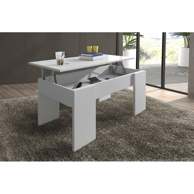 Design Elevable Table With White Colour