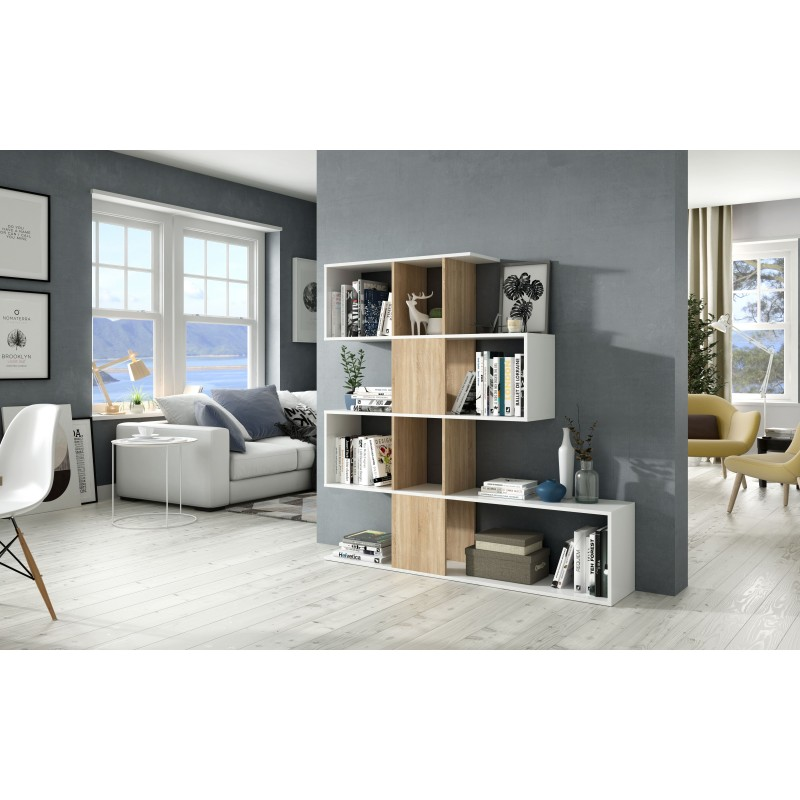 Shelve with 6 spaces
