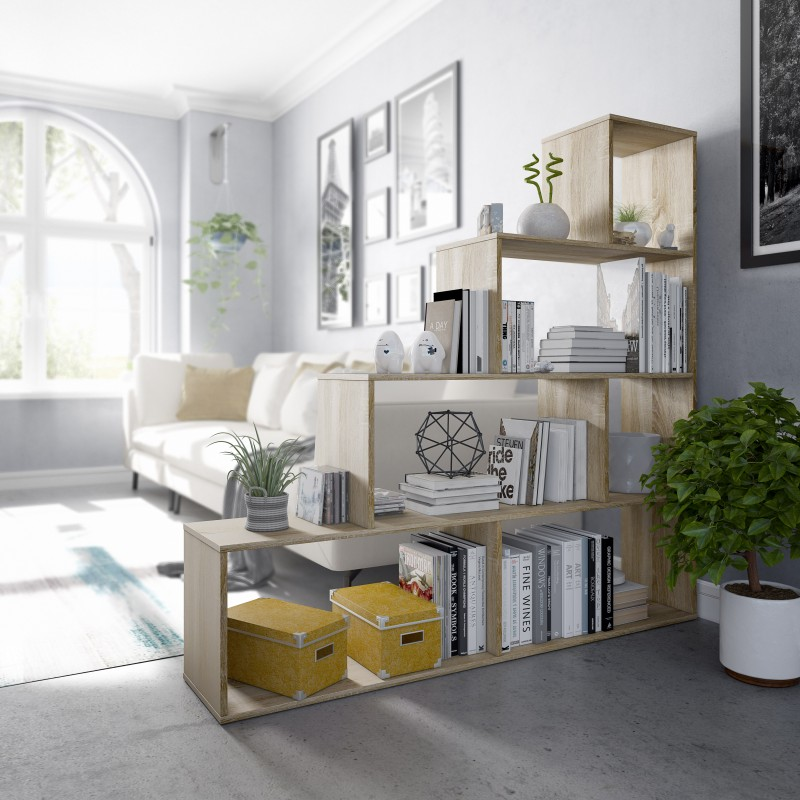Shelve with 9 spaces