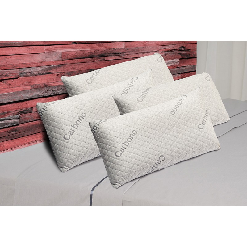 Pack 4 Visco Luxury Carbono Pillows